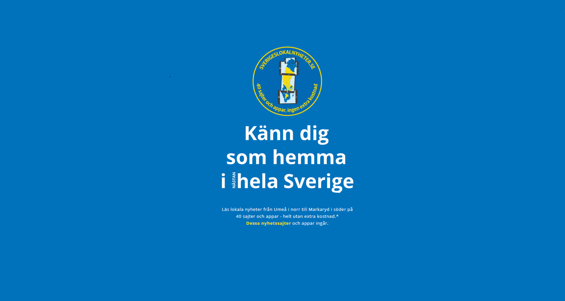 5 Swedish media companies partner to offer subscribers more local content