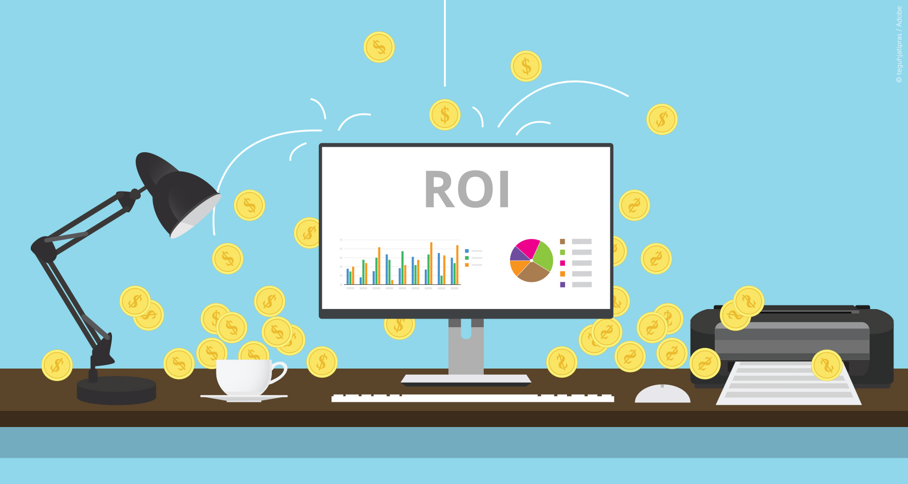 Smart marketing + better ROI = satisfied ad client