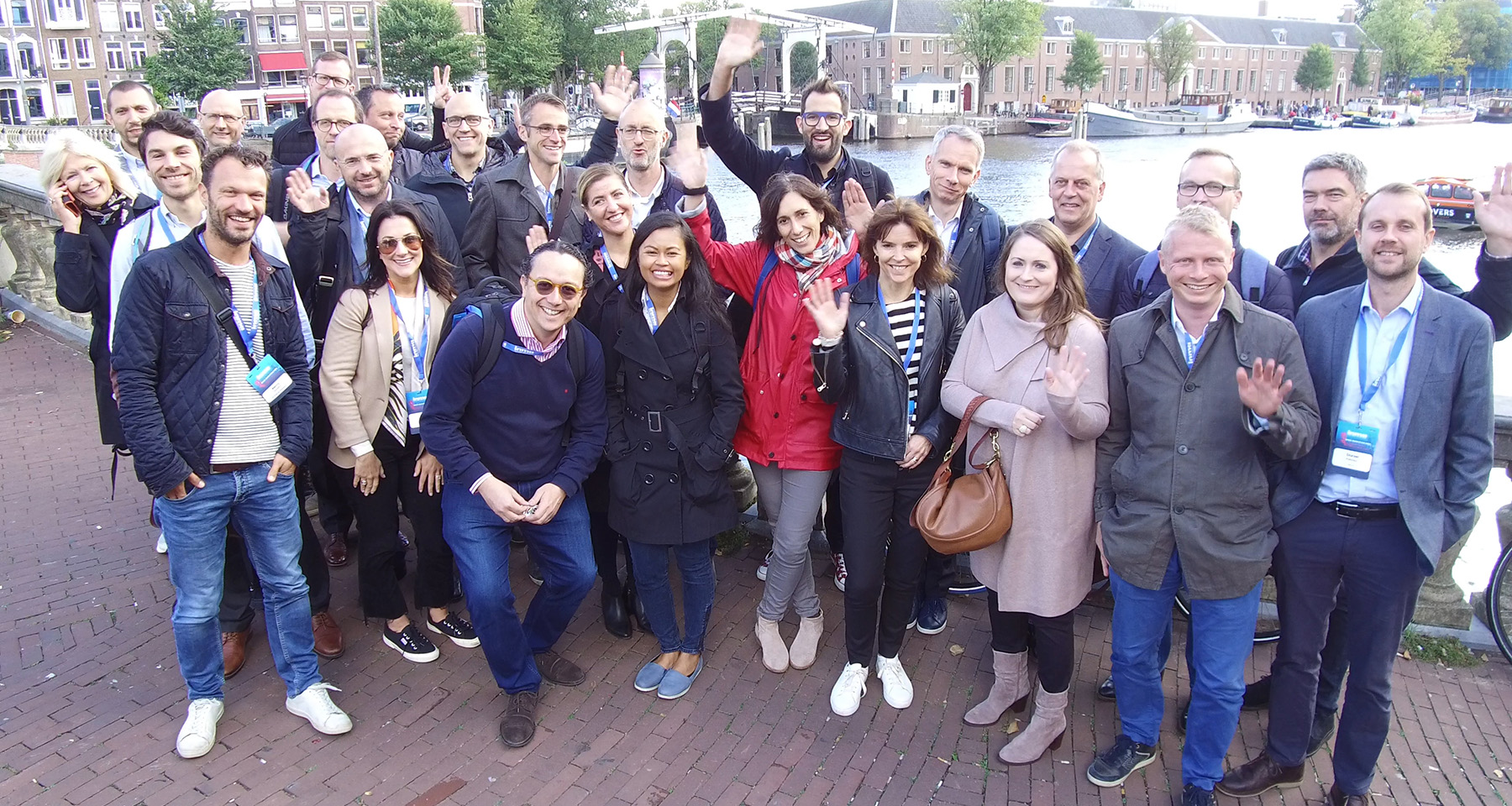 Amsterdam study tour participants take deep dive in local media innovation