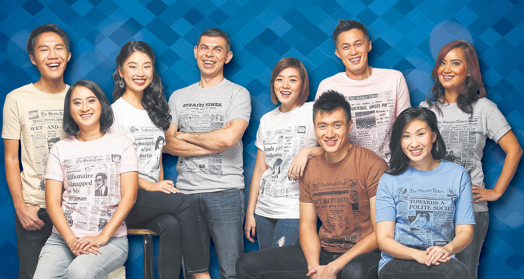 Straits Times celebrates anniversary in style with nostalgic T-shirt promotion