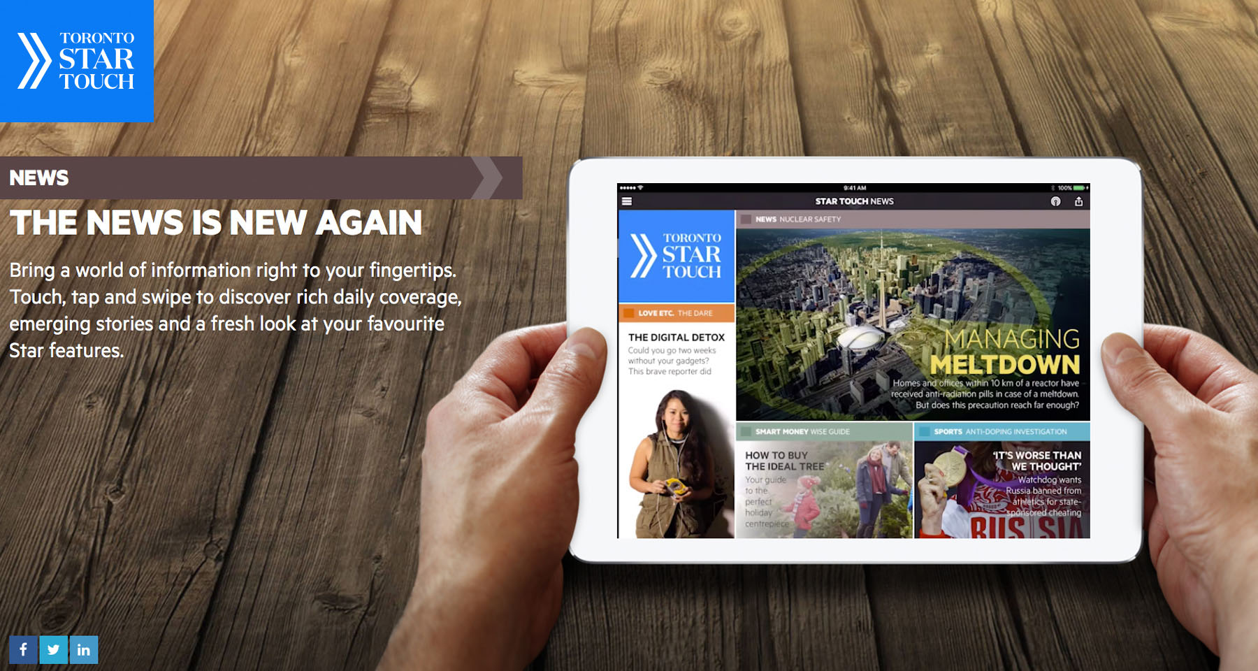 Toronto Star's tablet app leads deep editorial transformation