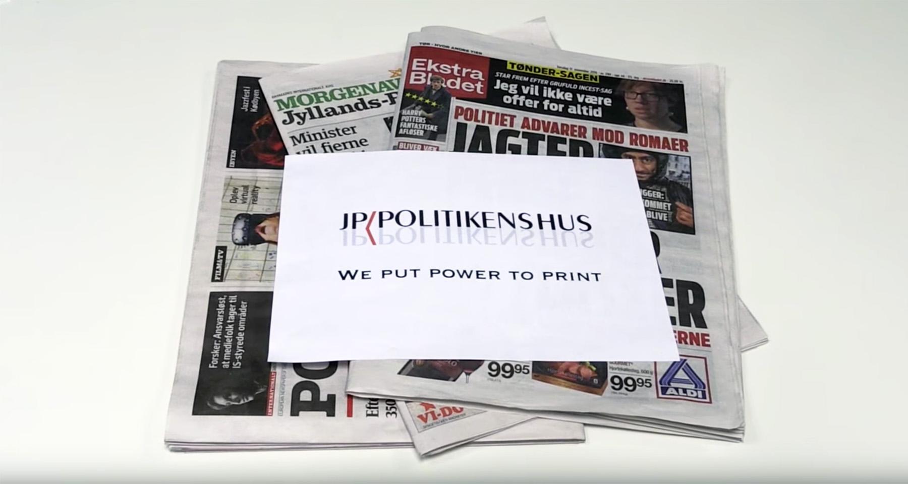 "JP/Politikens Hus launches ""programmatic print"" ad initiative"