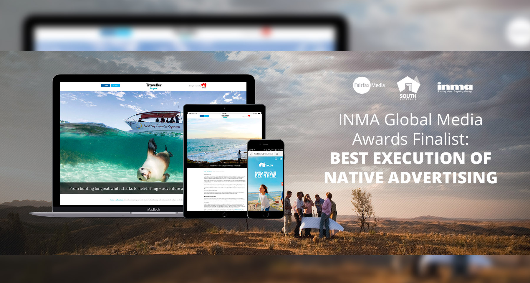 Fairfax Media's digital content marketing campaign helps revitalise local tourism