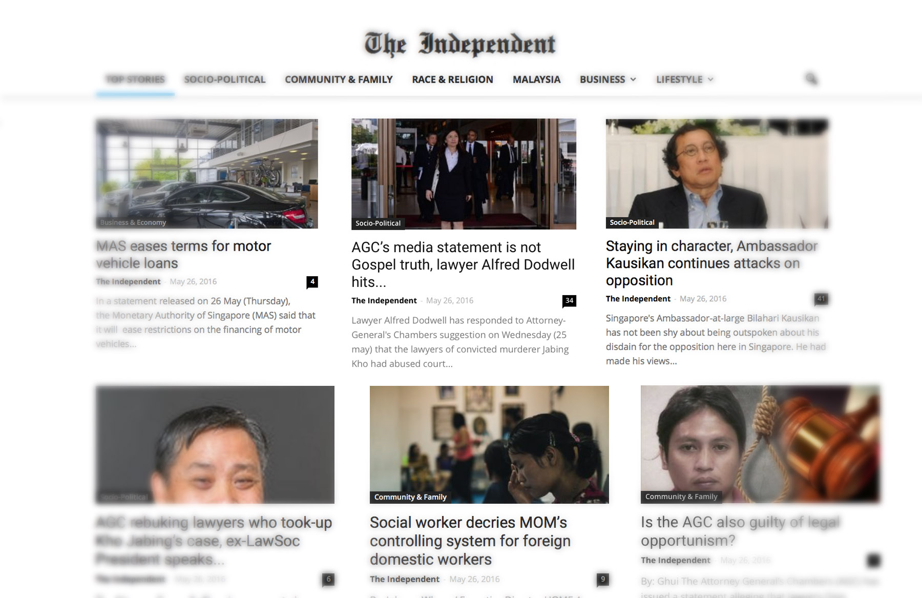 Independent Singapore uses analytics to engage audience in non-regulated platform