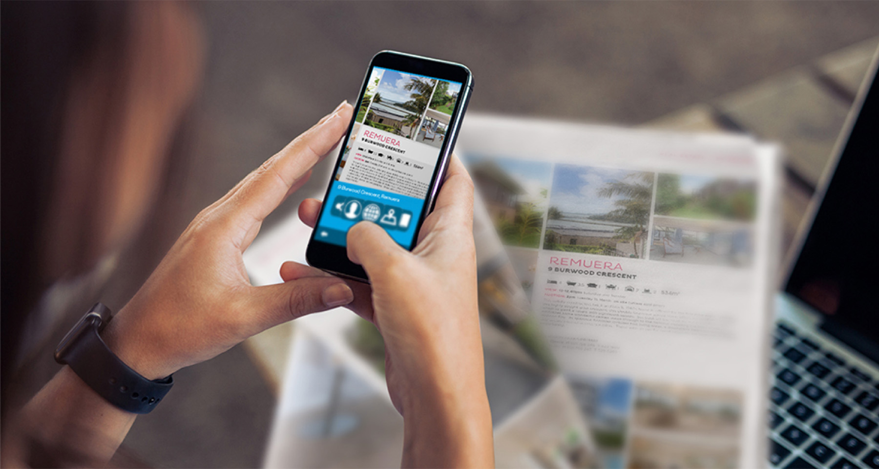 New Zealand Herald launches feature-rich real estate app to interact with print
