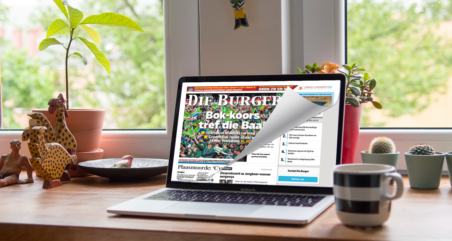 Die Burger converts older readers to digital with a personal touch