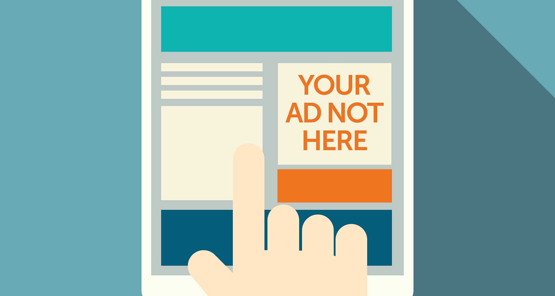 Ad blocking is more about personal data than on-target ads