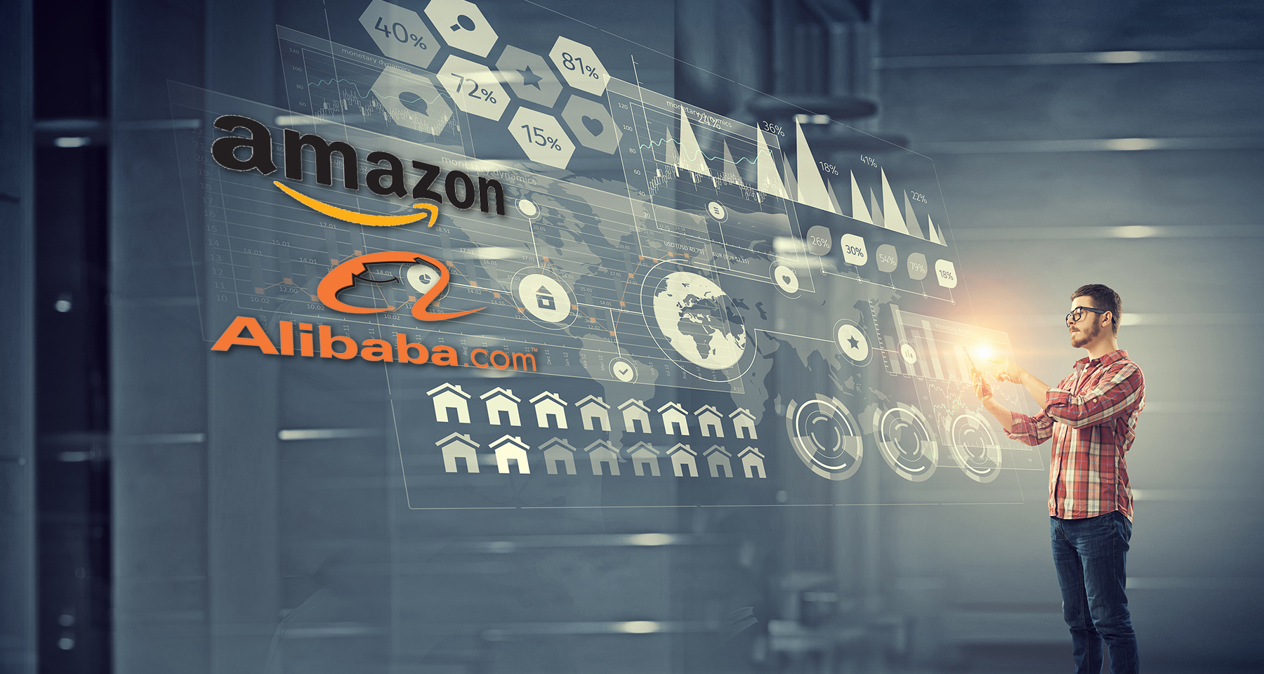 Will Amazon, Alibaba eat the bigger slice of the advertising pie?