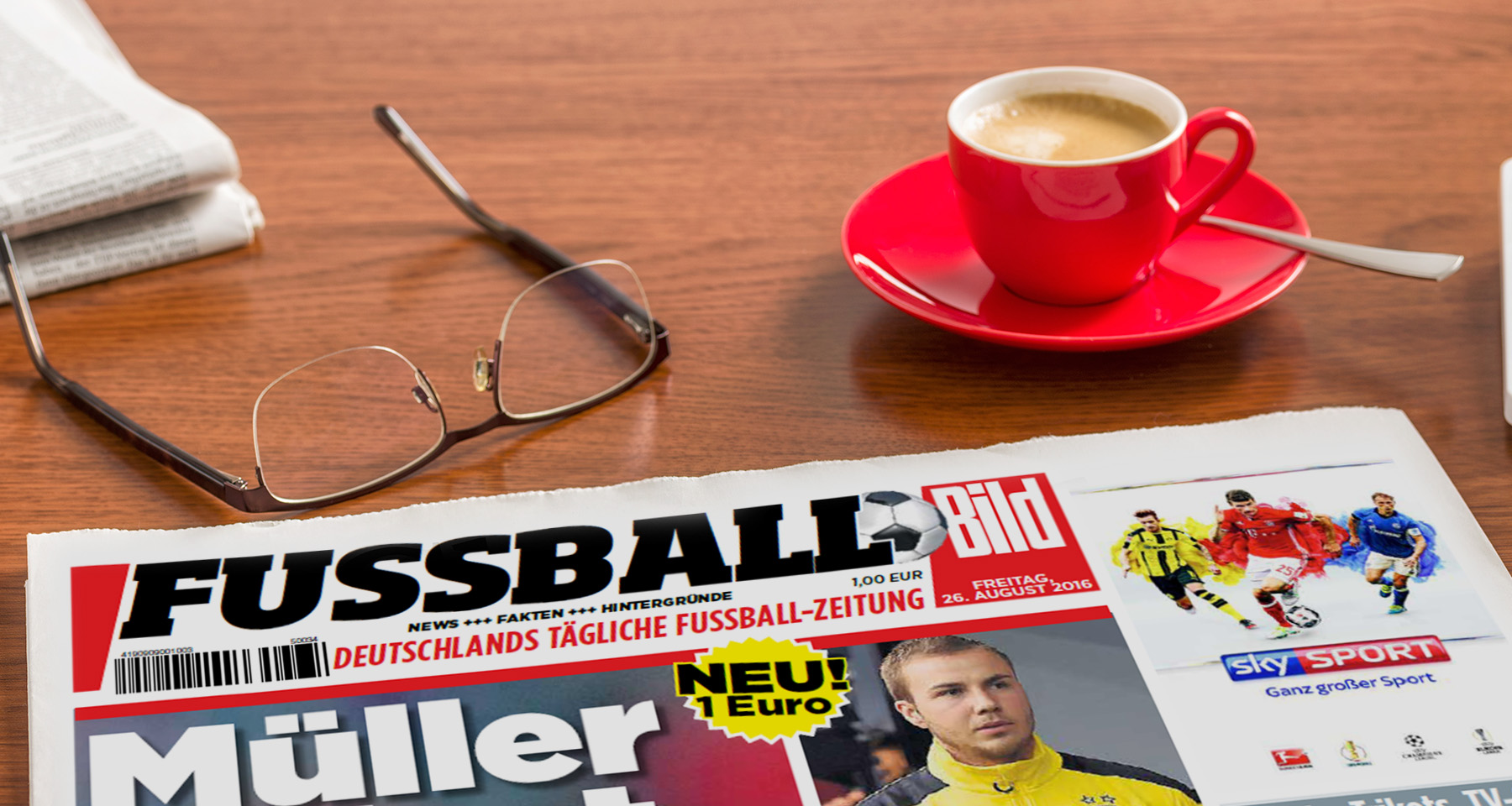 BILD tests daily soccer tabloid with regional audience
