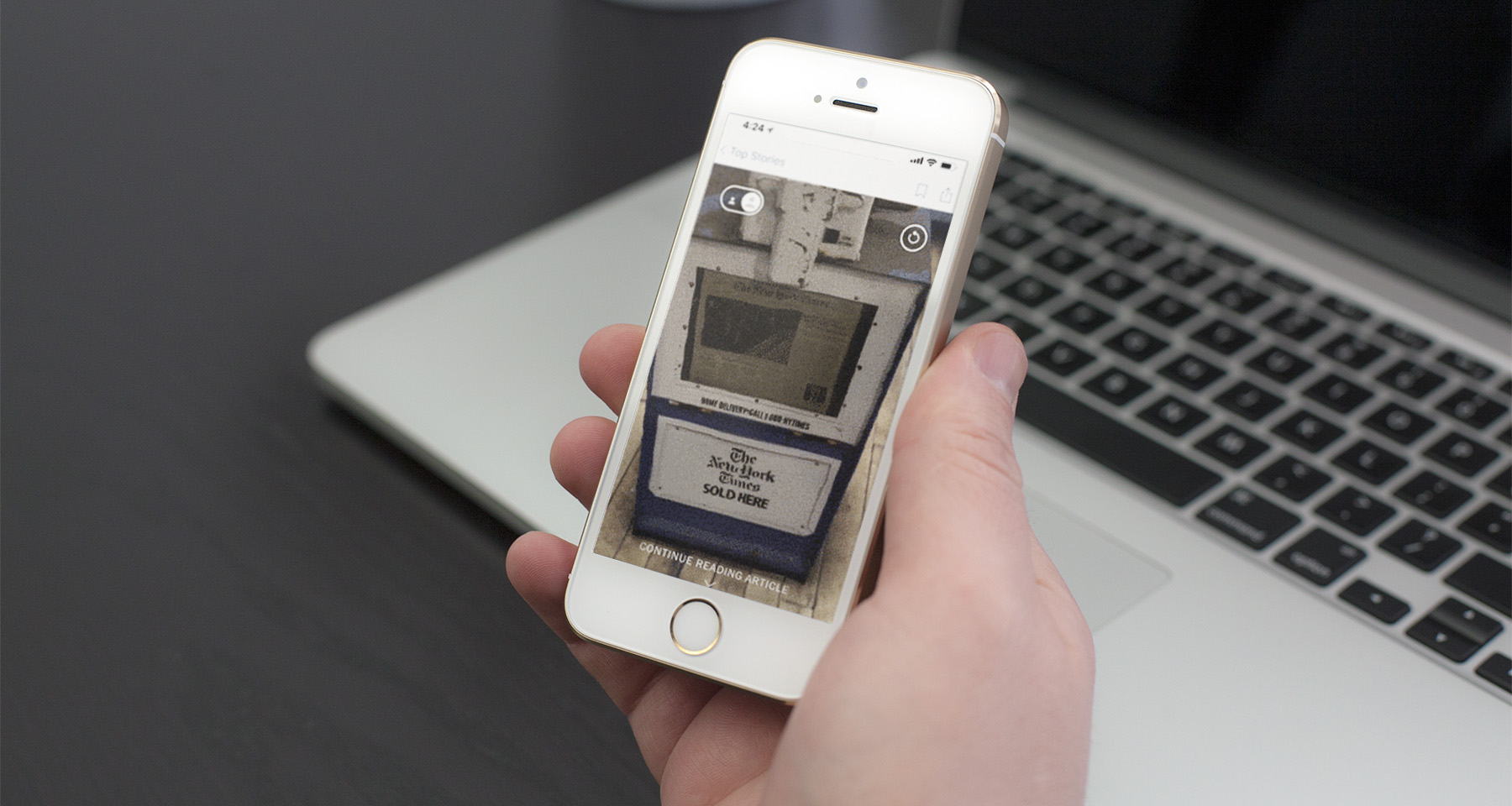 Mobile cameras morph into AR devices, forever changing journalism