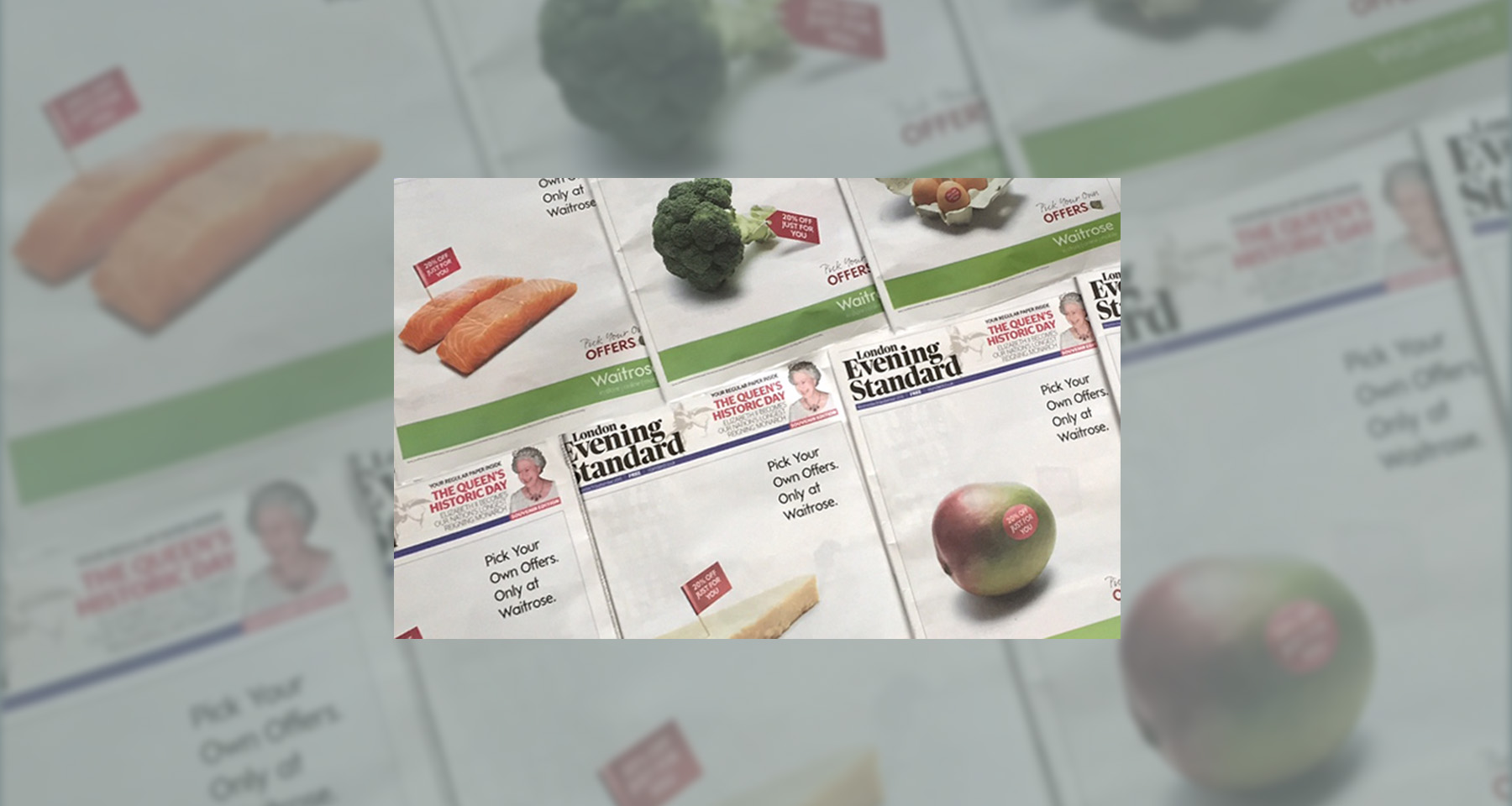 From food to finance, print advertisements deliver strong results
