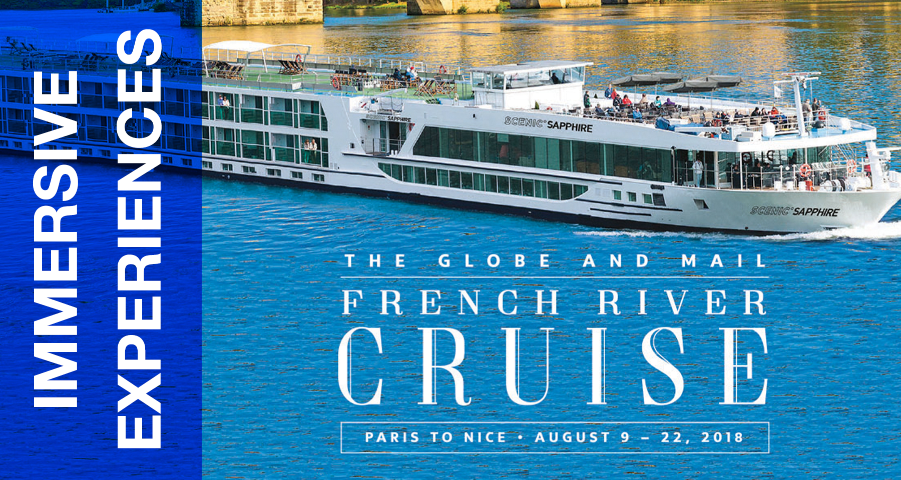 Globe River Cruise offers immersive brand extension, experience