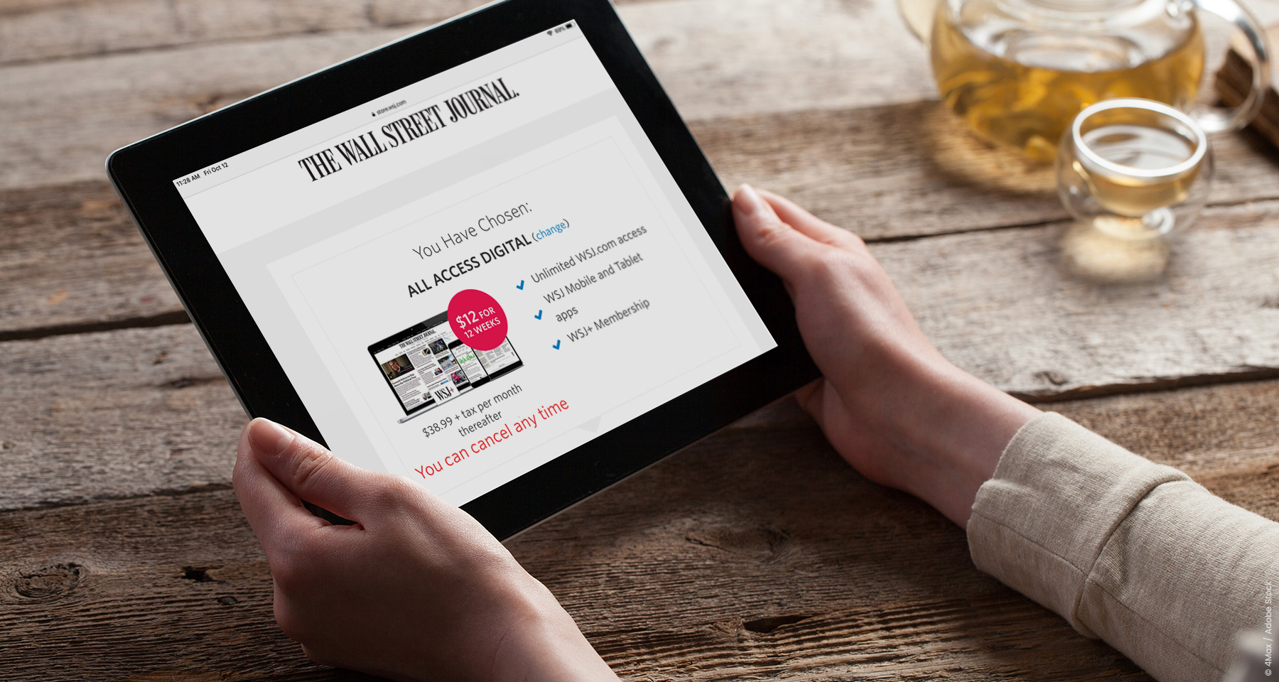 Wall Street Journal searches for low-hanging fruit of reader subscriptions
