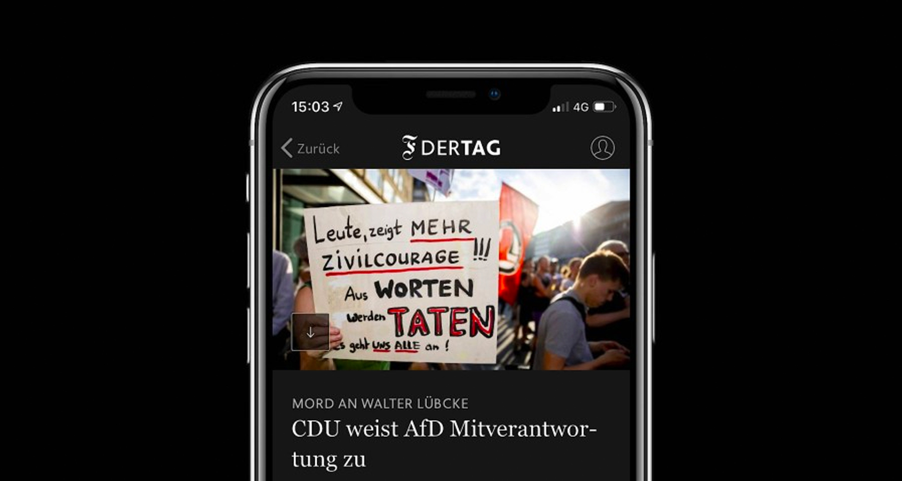 Der Tag app uses automatic content curation to grow digital subscriptions