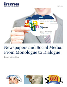 Newspapers and Social Media: From Monologue to Dialogue