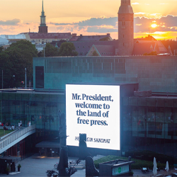 "Helsingin Sanomat's ""Land of the Free Press"" Campaign: From Execution to Long-Term Impact"