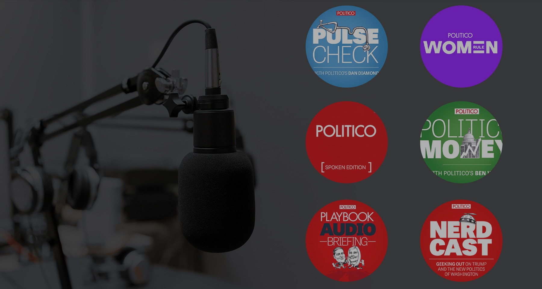 How Politico is building a winning podcast strategy