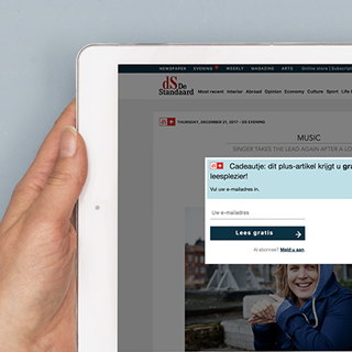 De Standaard Builds Its Paywall With Accessible Doors