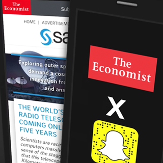 The Economist's Embrace of Snapchat