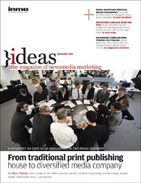 September 2011 edition of Ideas Magazine