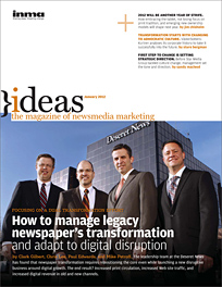 January 2012 edition of Ideas Magazine
