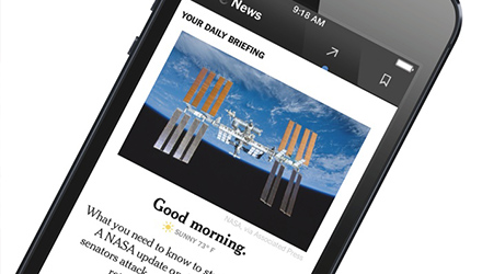 New York Times NYT Now Mobile App