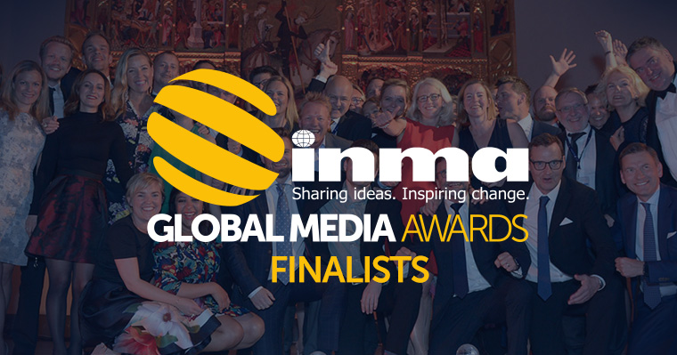 115 finalists were chosen from 655 entries in the INMA Global Media Awards competition.