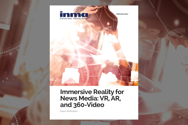 New strategic report explores best practices and research surrounding Immersive Reality in the news media industry.