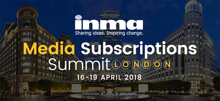 This week, 230 attendees from 33 countries will join INMA for a four-day summit on digital subscriptions in London.