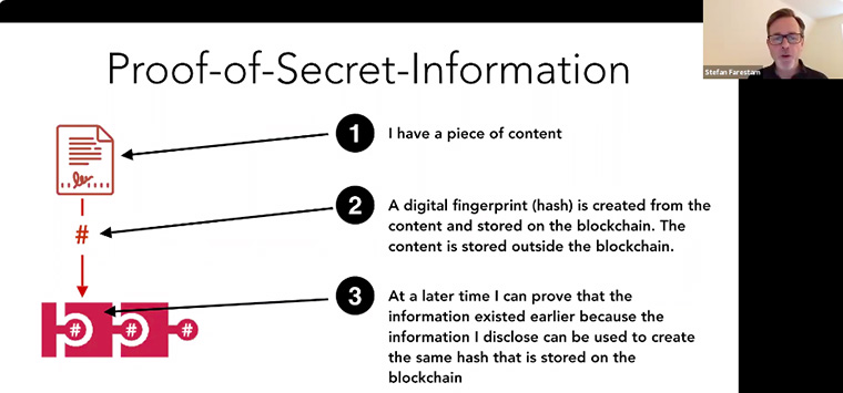 Proof of secret information helps publishers confirm that information is true and verified.