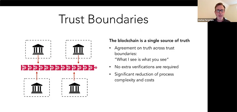 With trust being a key factor in media's relationship with its audience, blockchain can establish trust boundaries.