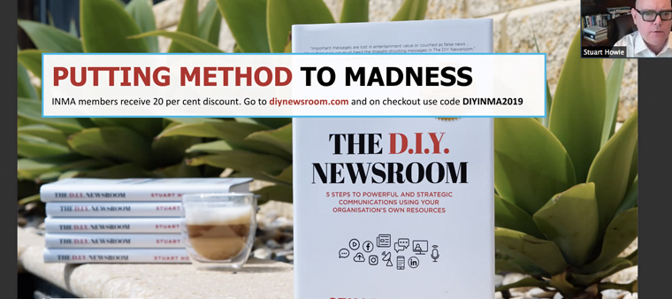 INMA members can get a discount on The DIY Newsroom.