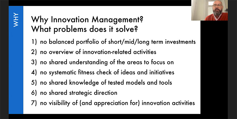 Without innovation management, organisations have a tough time addressing these seven problems.