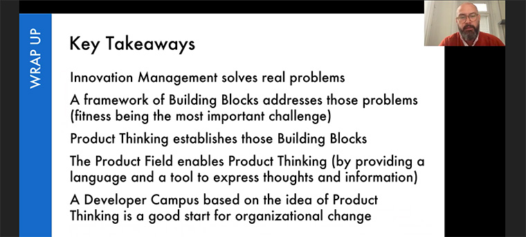 Frahm left Webinar attendees with these key takeaways.