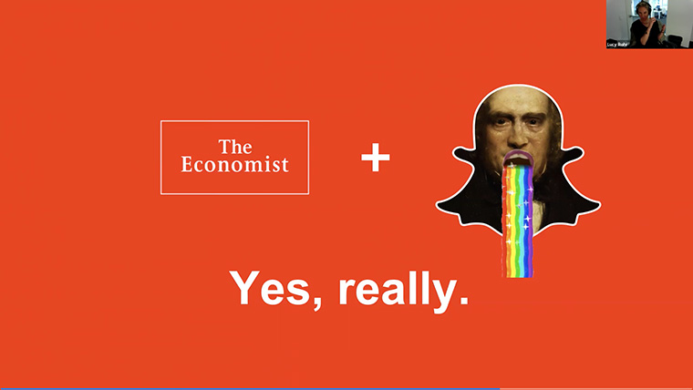 "After a two-year experiment with Snapchat Discover, The Economist has decided that it is a ""yes, really"" venture."