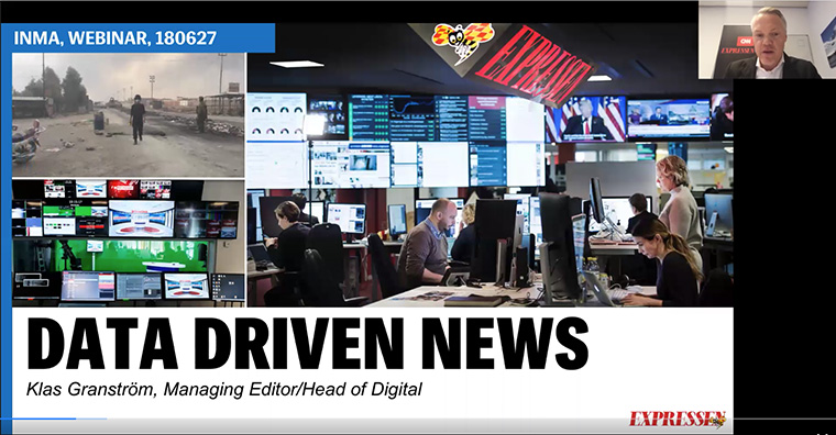 The Expressen is using reader data to drive everything that it does editorially, advertising, sales, and product development.