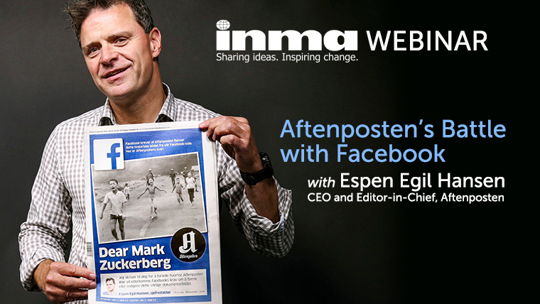 Espen Egil Hansen was bold with Facebook — and it worked.