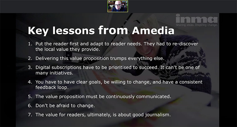 Amedia took away some key learning in their shift to digital subscriptions.