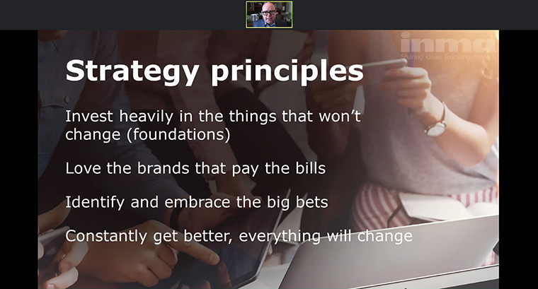Strategy principles for news media going into 2018.