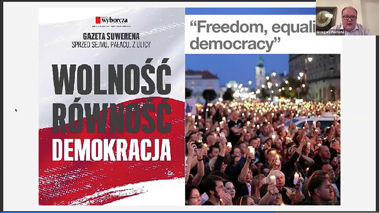 Gazeta Wyborcza leads with cause-led, progressive journalism in a nationalistic political climate.