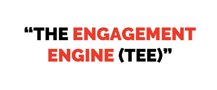 The Russmedia engagement engine incorporates a gamification system in which users receive reward points.