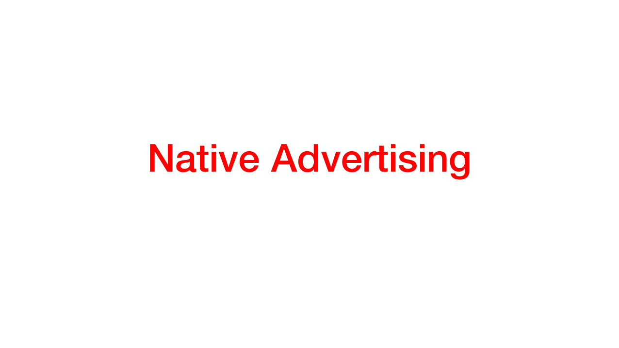 First ever global report on native ads in the news media industry