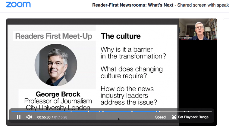 George Brock explains how culture change can be a barrier to transformation.