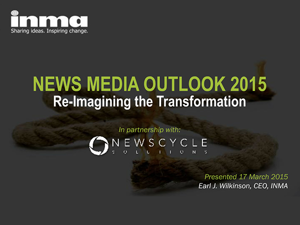 INMA Media Outlook 2015