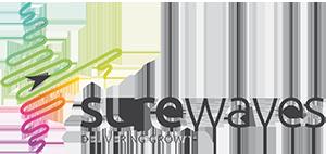 SureWaves logo